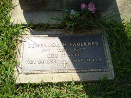 FAULKNER (VETERAN CSA), GOVERNOR H. - Greene County, Arkansas | GOVERNOR H. FAULKNER (VETERAN CSA) - Arkansas Gravestone Photos