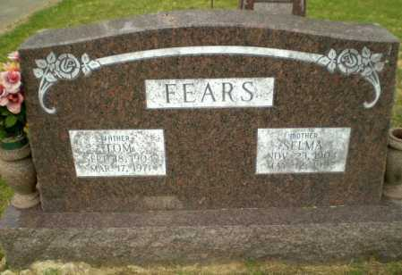 FEARS, SELMA - Greene County, Arkansas | SELMA FEARS - Arkansas Gravestone Photos