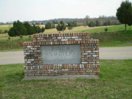 * FINCH CEMETERY, SIGN - Greene County, Arkansas | SIGN * FINCH CEMETERY - Arkansas Gravestone Photos