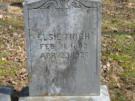 FINCH, ELSIE - Greene County, Arkansas | ELSIE FINCH - Arkansas Gravestone Photos