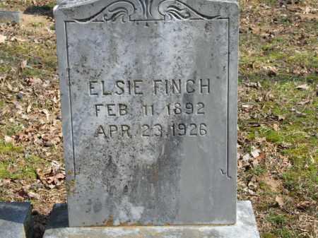 FINCH, ELSIE - Greene County, Arkansas | ELSIE FINCH - Arkansas Gravestone Photos