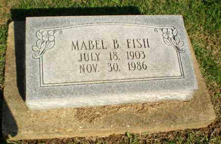 FISH, MABEL B - Greene County, Arkansas | MABEL B FISH - Arkansas Gravestone Photos