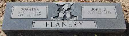 FLANERY, JOHN D. - Greene County, Arkansas | JOHN D. FLANERY - Arkansas Gravestone Photos