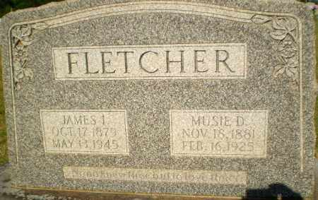 FLETCHER, MUSIE D - Greene County, Arkansas | MUSIE D FLETCHER - Arkansas Gravestone Photos