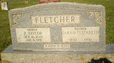 FLETCHER, Z. TAYLOR - Greene County, Arkansas | Z. TAYLOR FLETCHER - Arkansas Gravestone Photos