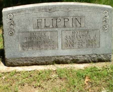 FLIPPIN, SAMANTHA J - Greene County, Arkansas | SAMANTHA J FLIPPIN - Arkansas Gravestone Photos
