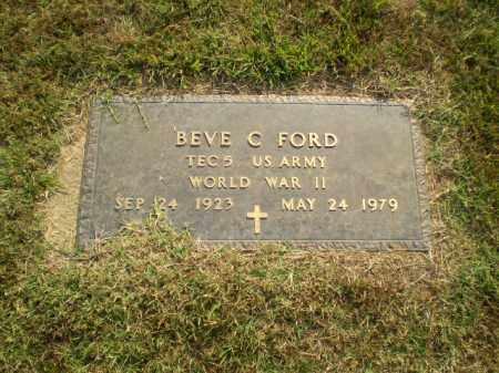 FORD   (VETERAN WWII), BEVE C - Greene County, Arkansas | BEVE C FORD   (VETERAN WWII) - Arkansas Gravestone Photos