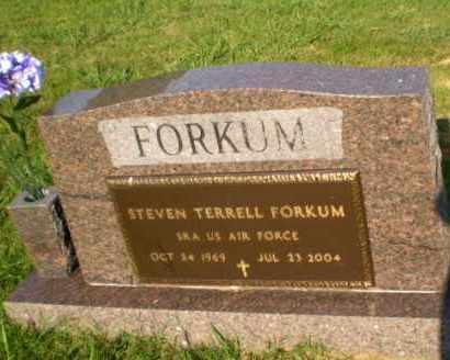 FORKUM  (VETERAN), STEVEN TERRELL - Greene County, Arkansas | STEVEN TERRELL FORKUM  (VETERAN) - Arkansas Gravestone Photos
