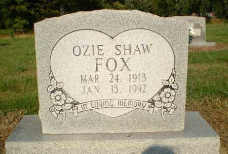 FOX, OZIE SHAW - Greene County, Arkansas | OZIE SHAW FOX - Arkansas Gravestone Photos