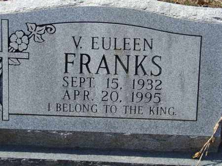 FRANKS, V. EULEEN - Greene County, Arkansas | V. EULEEN FRANKS - Arkansas Gravestone Photos