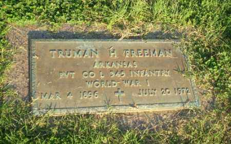 FREEMAN  (VETERAN WWI), TRUMAN H - Greene County, Arkansas | TRUMAN H FREEMAN  (VETERAN WWI) - Arkansas Gravestone Photos