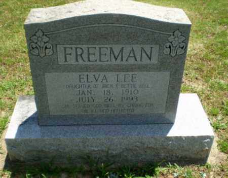 FREEMAN, ELVA LEE - Greene County, Arkansas | ELVA LEE FREEMAN - Arkansas Gravestone Photos