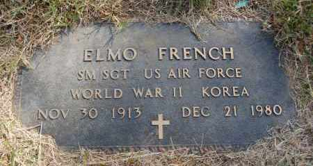 FRENCH (VETERAN 2 WARS), ELMO - Greene County, Arkansas | ELMO FRENCH (VETERAN 2 WARS) - Arkansas Gravestone Photos