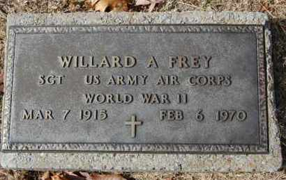 FREY (VETERAN WWII), WILLARD A - Greene County, Arkansas | WILLARD A FREY (VETERAN WWII) - Arkansas Gravestone Photos