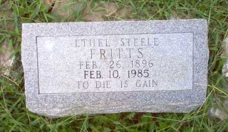 STEELE FRITTS, ETHEL - Greene County, Arkansas | ETHEL STEELE FRITTS - Arkansas Gravestone Photos