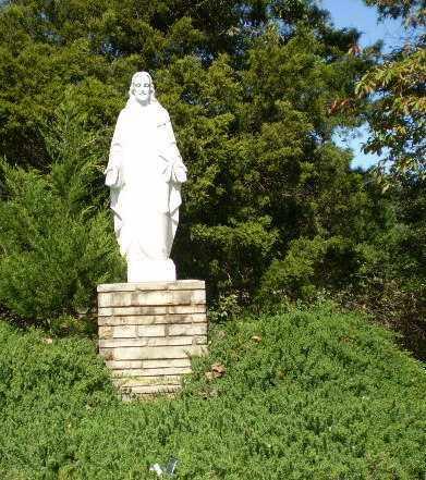 *GARDEN OF CHRISTUS, STATUE - Greene County, Arkansas | STATUE *GARDEN OF CHRISTUS - Arkansas Gravestone Photos