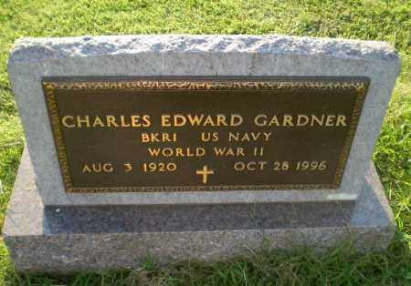 GARDNER (VETERAN WWII), CHARLES EDWARD - Greene County, Arkansas | CHARLES EDWARD GARDNER (VETERAN WWII) - Arkansas Gravestone Photos