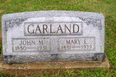 GARLAND, MARY E - Greene County, Arkansas | MARY E GARLAND - Arkansas Gravestone Photos