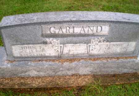 GARLAND, LENNIE J - Greene County, Arkansas | LENNIE J GARLAND - Arkansas Gravestone Photos