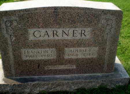 GARNER, LOUISE F - Greene County, Arkansas | LOUISE F GARNER - Arkansas Gravestone Photos