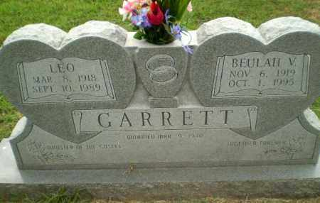 GARRETT, BEULAH V - Greene County, Arkansas | BEULAH V GARRETT - Arkansas Gravestone Photos
