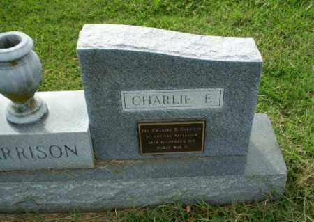 GARRISON  (VETERAN WWII), CHARLIE E - Greene County, Arkansas | CHARLIE E GARRISON  (VETERAN WWII) - Arkansas Gravestone Photos