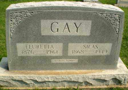 GAY, SILAS - Greene County, Arkansas | SILAS GAY - Arkansas Gravestone Photos