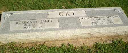 GAY  (VETERAN 2 WARS), BRYAN WILSON - Greene County, Arkansas | BRYAN WILSON GAY  (VETERAN 2 WARS) - Arkansas Gravestone Photos