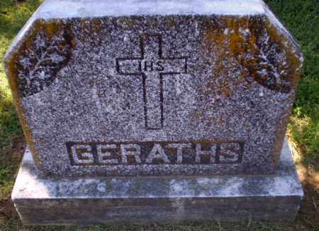 GERATHS FAMILY STONE,  - Greene County, Arkansas |  GERATHS FAMILY STONE - Arkansas Gravestone Photos