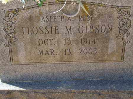 GIBSON, FLOSSIE M. - Greene County, Arkansas | FLOSSIE M. GIBSON - Arkansas Gravestone Photos