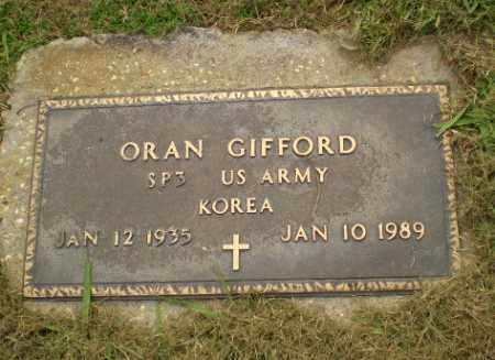 GIFFORD  (VETERAN KOR), ORAN - Greene County, Arkansas | ORAN GIFFORD  (VETERAN KOR) - Arkansas Gravestone Photos