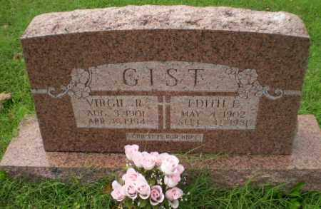 GIST, EDITH E - Greene County, Arkansas | EDITH E GIST - Arkansas Gravestone Photos
