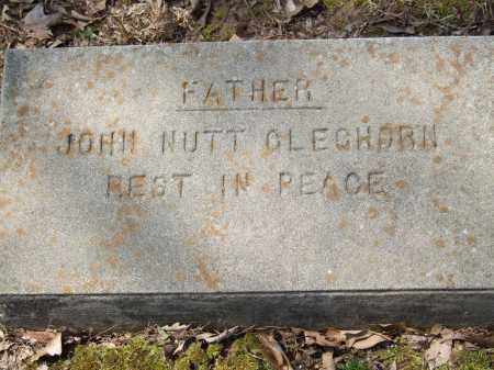GLEGHORN, JOHN NUTT - Greene County, Arkansas | JOHN NUTT GLEGHORN - Arkansas Gravestone Photos