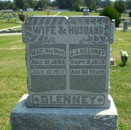 GLENNEY, J.J. - Greene County, Arkansas | J.J. GLENNEY - Arkansas Gravestone Photos