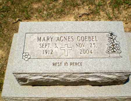 GOEBEL, MARY AGNES - Greene County, Arkansas | MARY AGNES GOEBEL - Arkansas Gravestone Photos