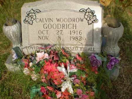 GOODRICH, CALVIN WOODROW - Greene County, Arkansas | CALVIN WOODROW GOODRICH - Arkansas Gravestone Photos