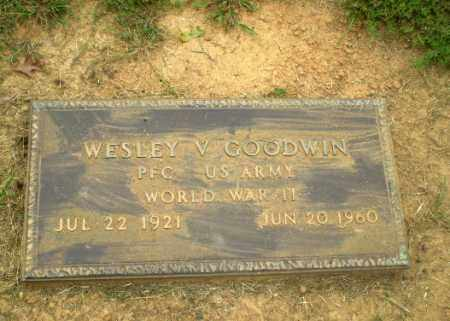 GOODWIN  (VETERAN WWII), WESLEY V - Greene County, Arkansas | WESLEY V GOODWIN  (VETERAN WWII) - Arkansas Gravestone Photos