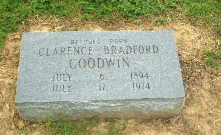 GOODWIN, CLARENCE BRADFORD - Greene County, Arkansas | CLARENCE BRADFORD GOODWIN - Arkansas Gravestone Photos