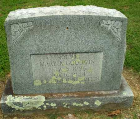 GOODWIN, MARY K - Greene County, Arkansas | MARY K GOODWIN - Arkansas Gravestone Photos