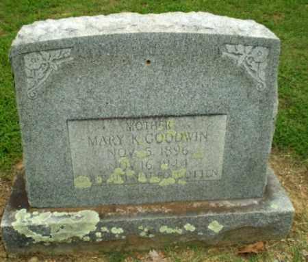 GOODWIN, MARY K - Greene County, Arkansas | MARY K GOODWIN - Arkansas Gravestone Photos