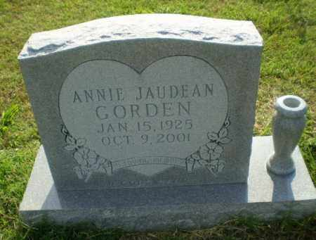 GORDEN, ANNIE JAUDEAN - Greene County, Arkansas | ANNIE JAUDEAN GORDEN - Arkansas Gravestone Photos