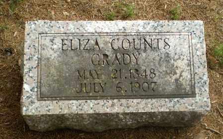 GRADY, ELIZA - Greene County, Arkansas | ELIZA GRADY - Arkansas Gravestone Photos