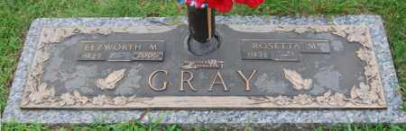 GRAY, ELZWORTH M. - Greene County, Arkansas | ELZWORTH M. GRAY - Arkansas Gravestone Photos
