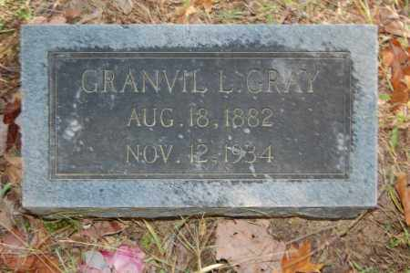GRAY, GRANVIL L. - Greene County, Arkansas | GRANVIL L. GRAY - Arkansas Gravestone Photos