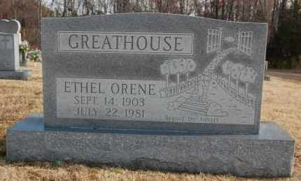 GREATHOUSE, ETHEL ORENE - Greene County, Arkansas | ETHEL ORENE GREATHOUSE - Arkansas Gravestone Photos
