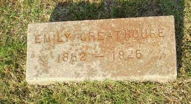 GREATHOUSE, EMILY - Greene County, Arkansas | EMILY GREATHOUSE - Arkansas Gravestone Photos