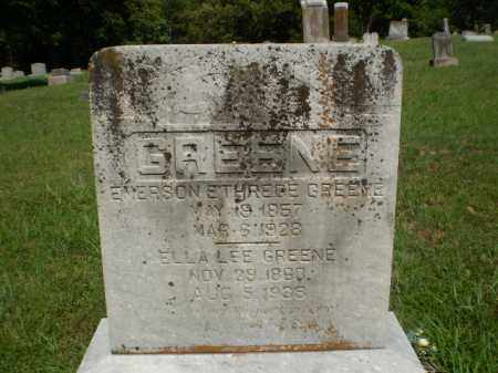 GREENE, ELLA - Greene County, Arkansas | ELLA GREENE - Arkansas Gravestone Photos