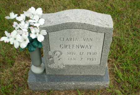 GREENWAY, CLARIA VAN - Greene County, Arkansas | CLARIA VAN GREENWAY - Arkansas Gravestone Photos