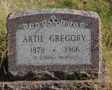 GREGORY, ARTIE - Greene County, Arkansas | ARTIE GREGORY - Arkansas Gravestone Photos