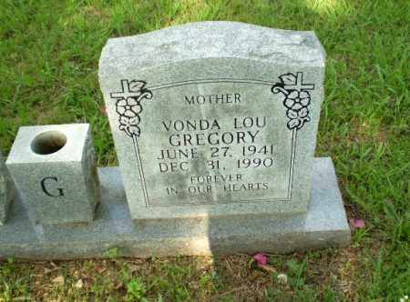 GREGORY, VONDA LOU - Greene County, Arkansas | VONDA LOU GREGORY - Arkansas Gravestone Photos